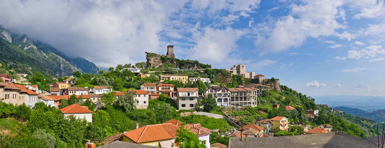 Les environs de Tirana
