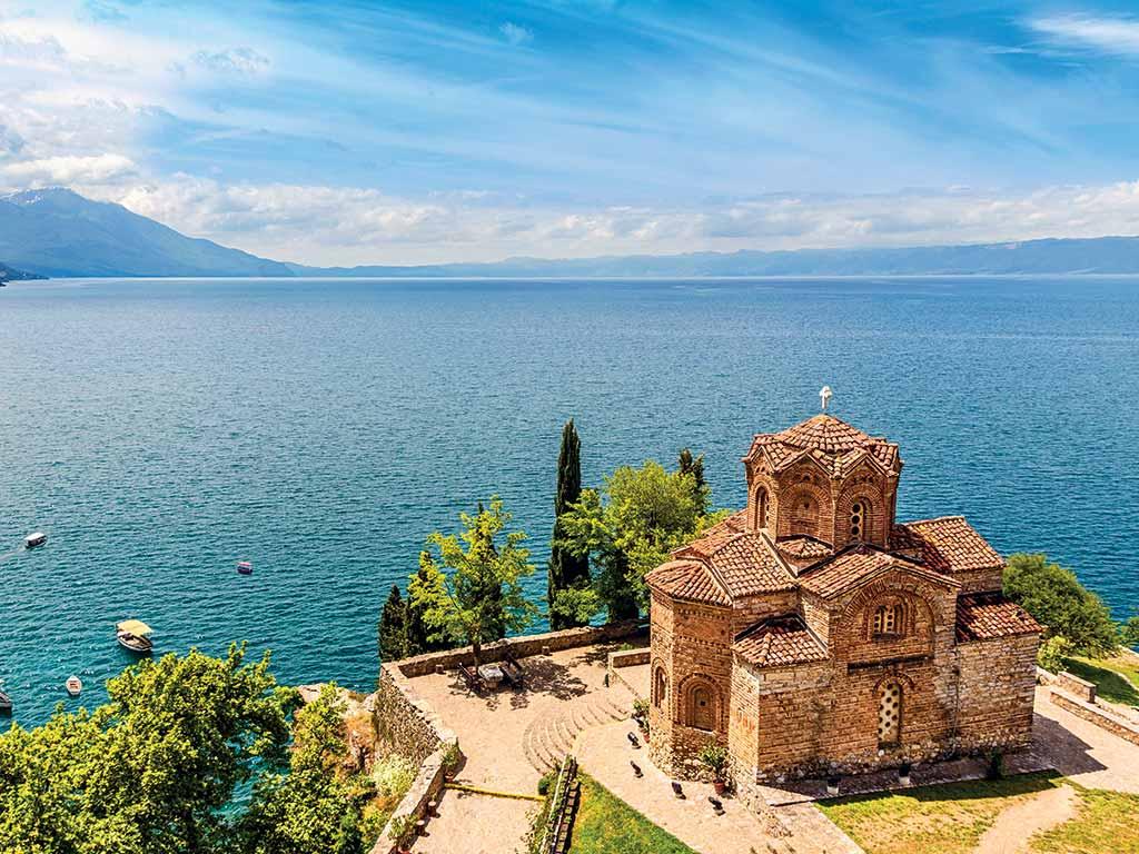 Ohrid en Macédoine