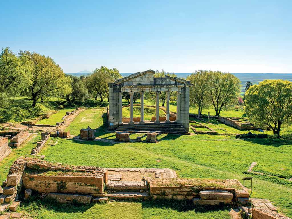 Le parc archéologique d'Apollonia