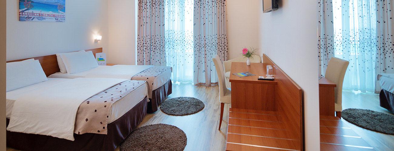 Chambre de l'hôtel Albanian Star 4*