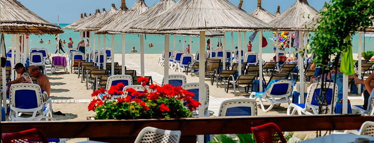 Bar de la plage à l'hôtel Albanian Star 4*
