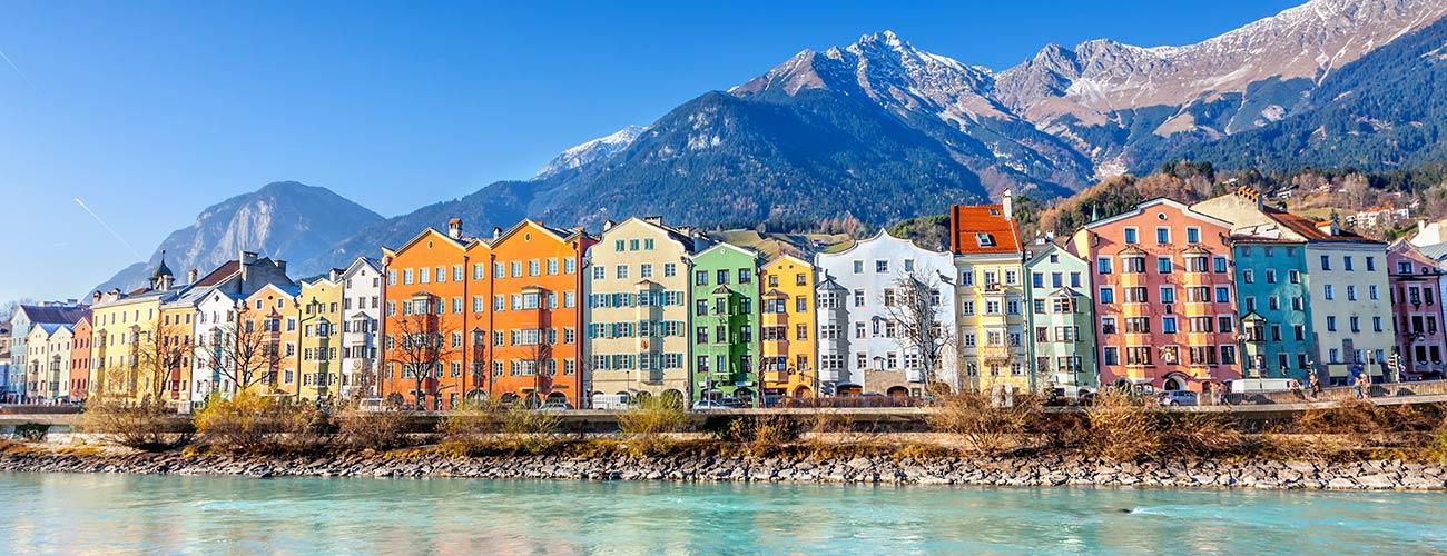 Innsbruck, la capitale du Tyrol