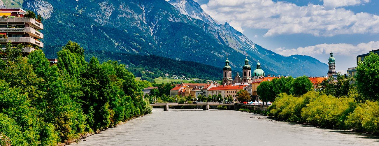 La ville D'Innsbruck