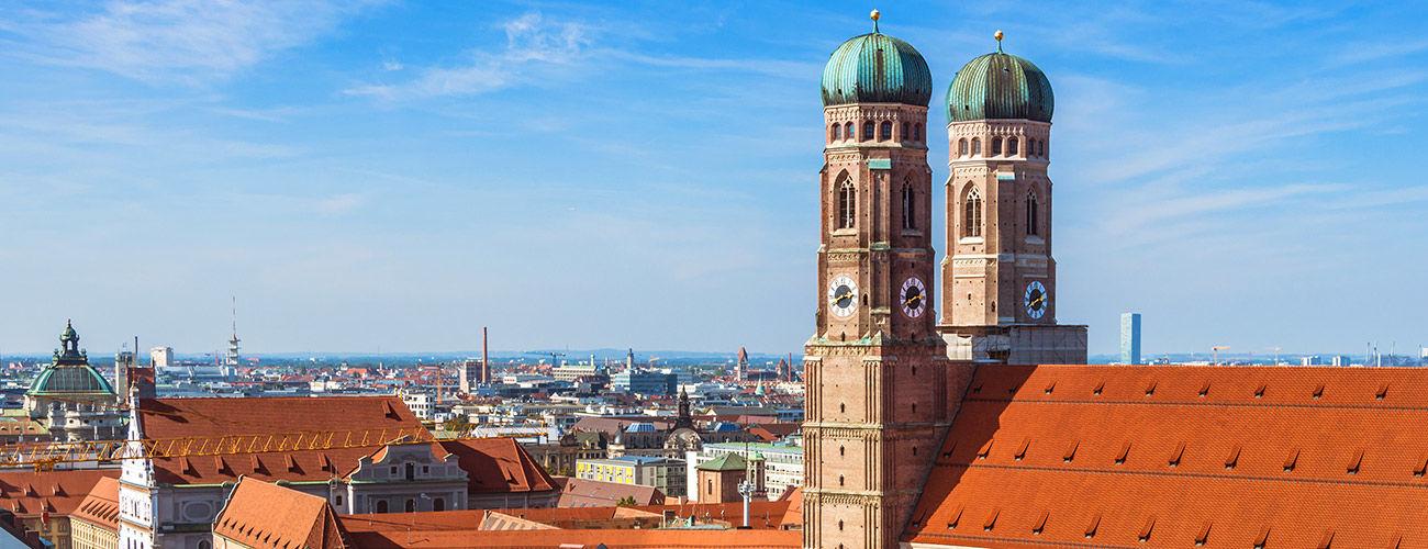 Les toits de Munich