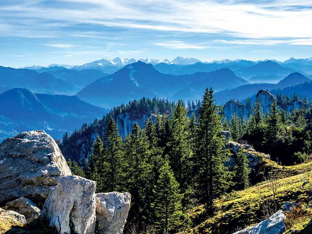 Les Alpes bavaroises