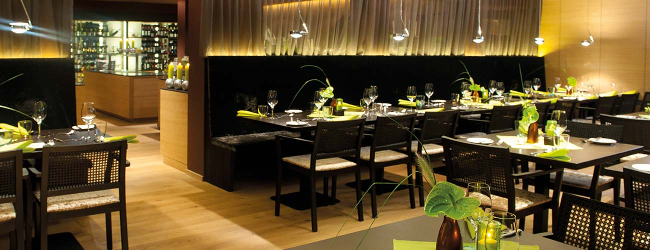 Le restaurant de l'hôtel Schwarzbrunn