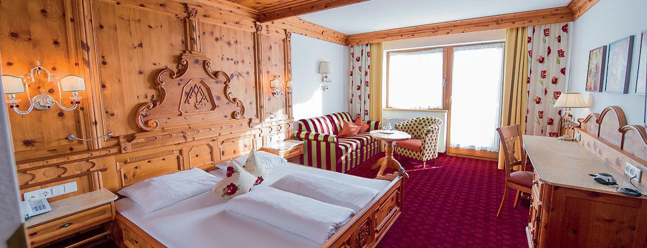 Chambre de l'hôtel Schwarzbrunn