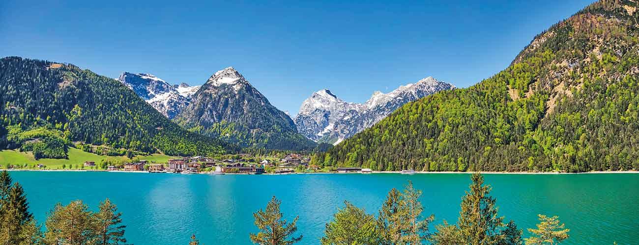 Lac Achensee, en Autriche