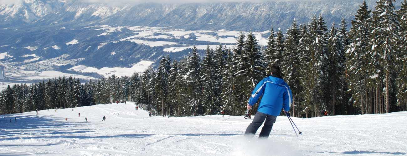 Ski dans le tyrol autrichien