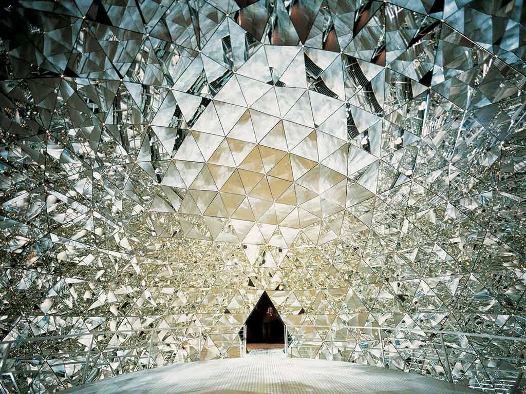 Les mondes de cristal Swarovski