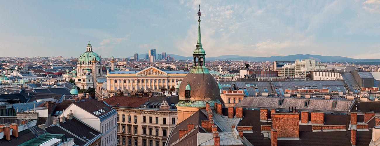 Toits de Vienne