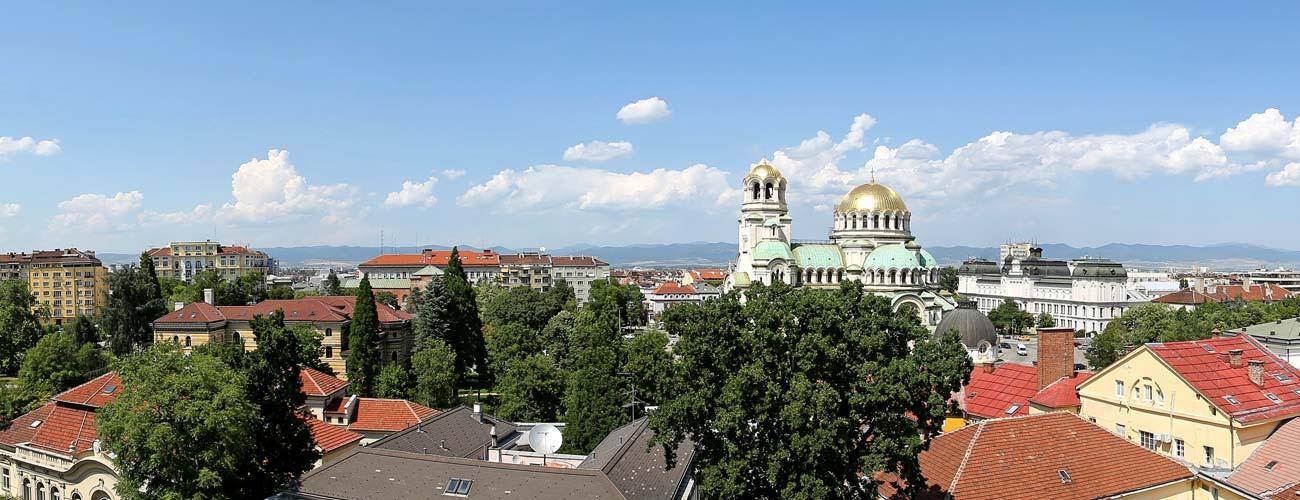 Sofia, capitale de la Bulgarie