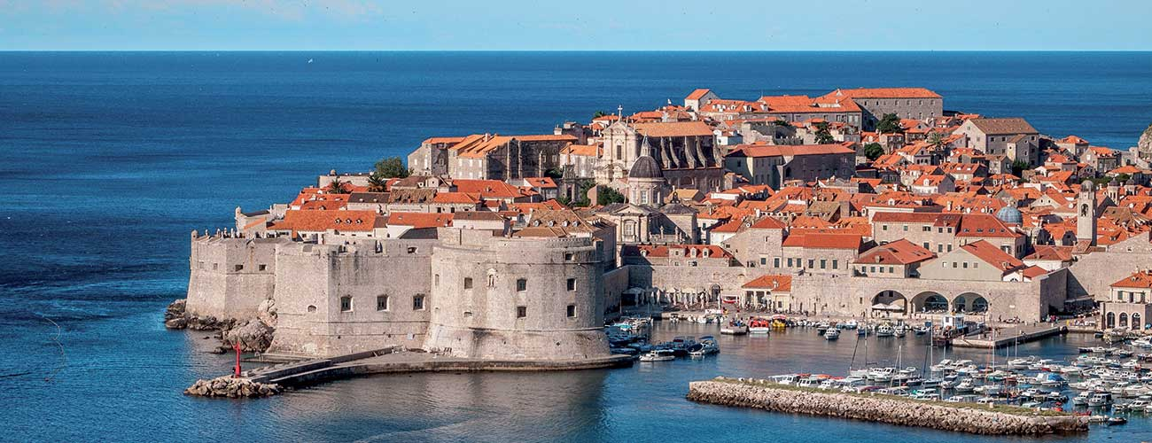 La ville de Dubrovnik