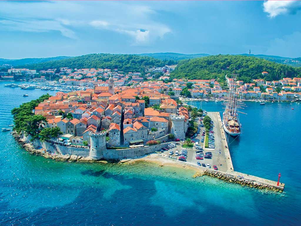 Croisière en Croatie à bord du MV IL Mare - Cabine pont principal