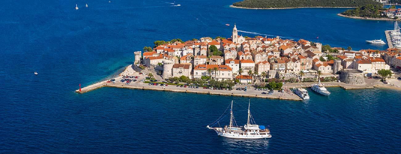 Croisière en Croatie sur le bateau MS Mendula
