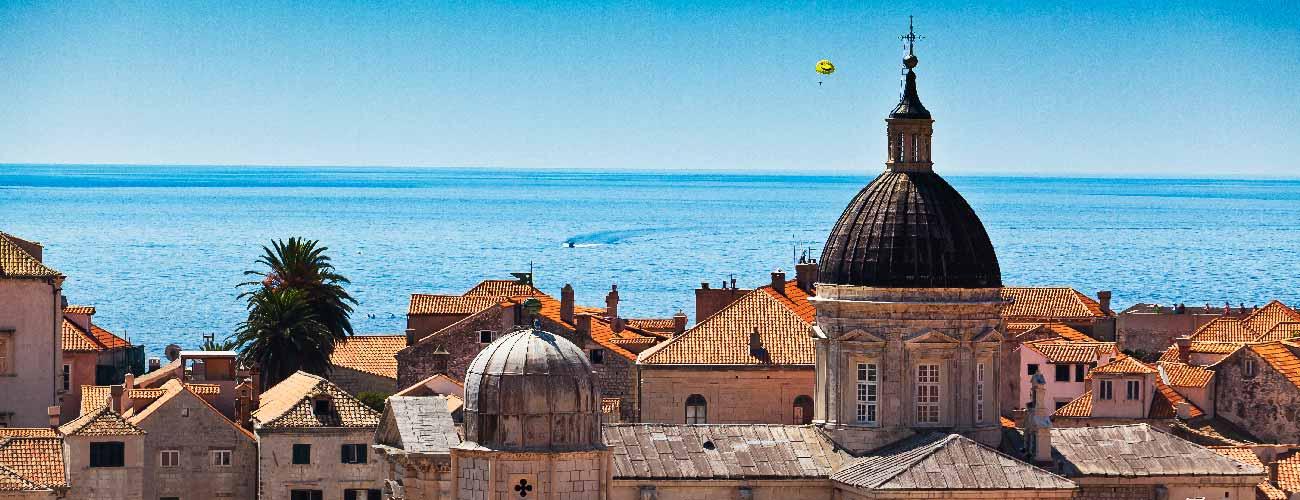 Vue de Dubrovnik, en Croatie