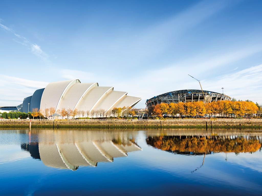 Vue de Glasgow