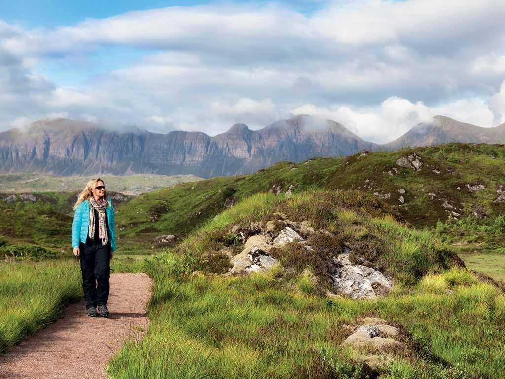 Randonnée dans les highlands