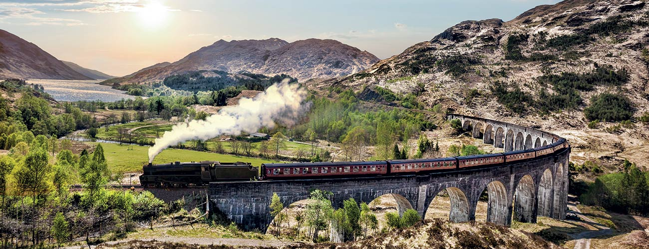 Train en Écosse