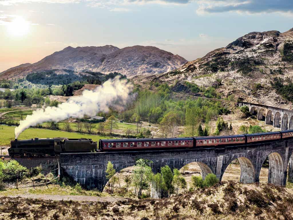 Train en Ecosse