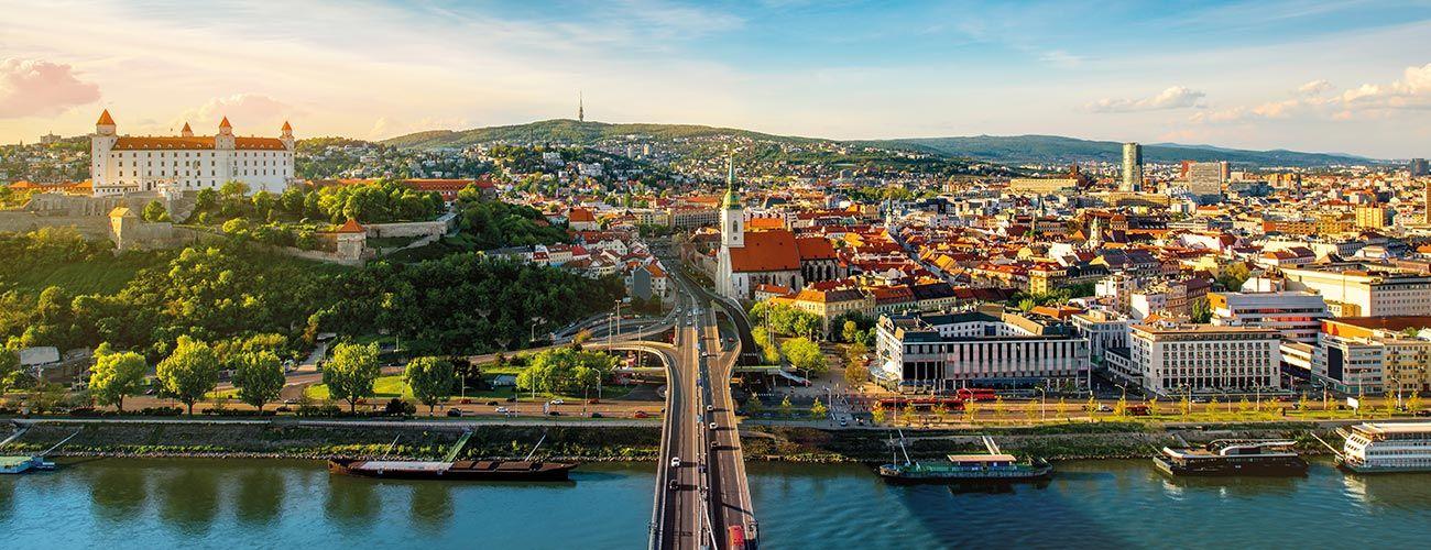 Bratislava, la capitale slovaque