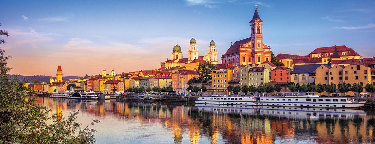 Le Danube à Passau