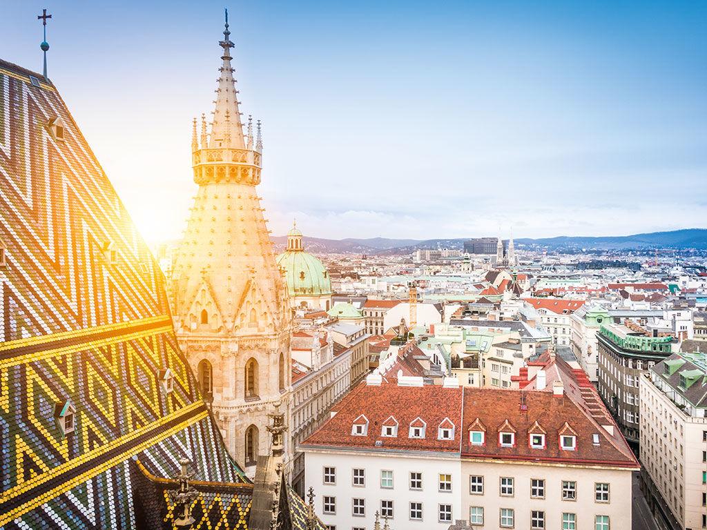 Les toits de Vienne