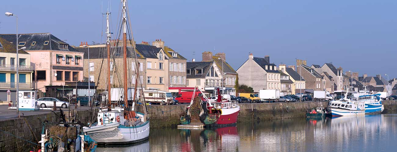 Saint-Vaast-la-Hougue, dans le Cotentin en Normandie