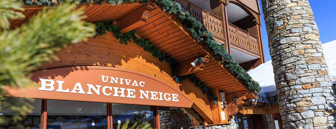 Hôtel Blanche Neige 3* à Courchevel