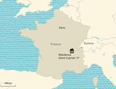 Résidence de vacances à Saint Cyprien 3*, en Occitanie