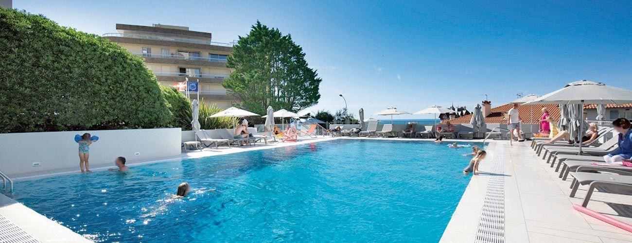 Hôtel Résidence Vacances Bleues Le Grand Large 3*, à Biarritz