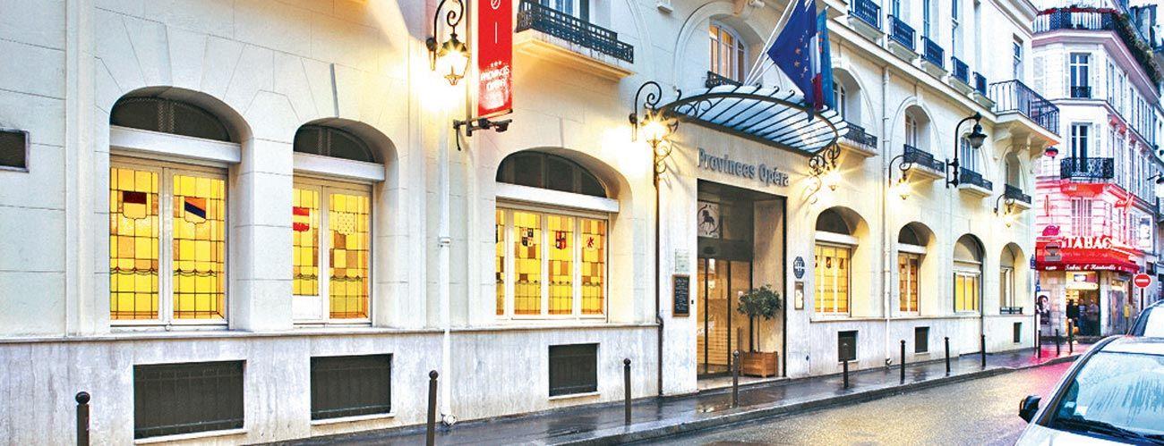L'hôtel Provinces Opéra 3*, à Paris