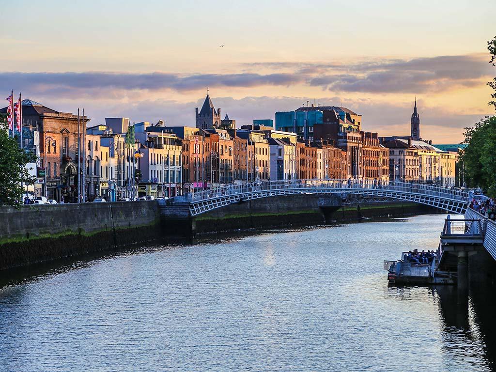 Dublin, capitale d'Irlande