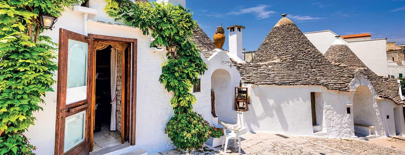 Habitats typiques d'Alberobello