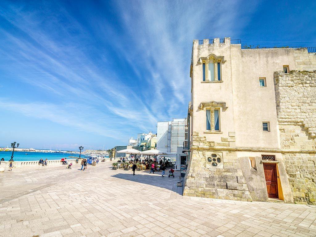 Le château aragonais de Otrante