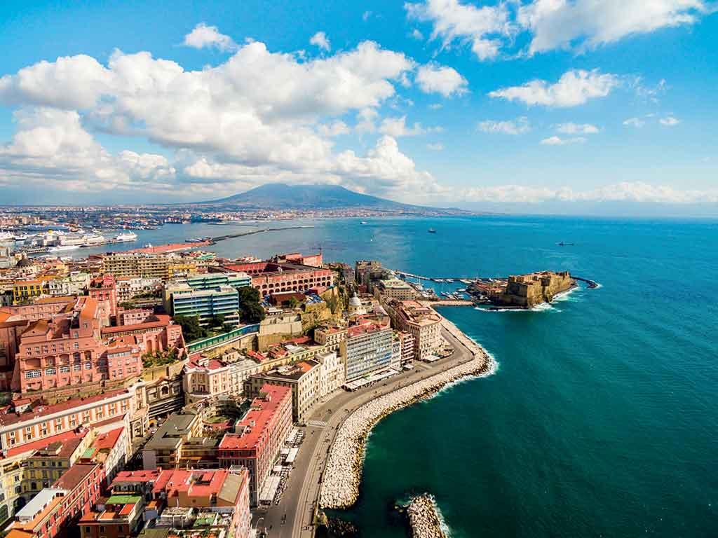 Naples en bord de mer