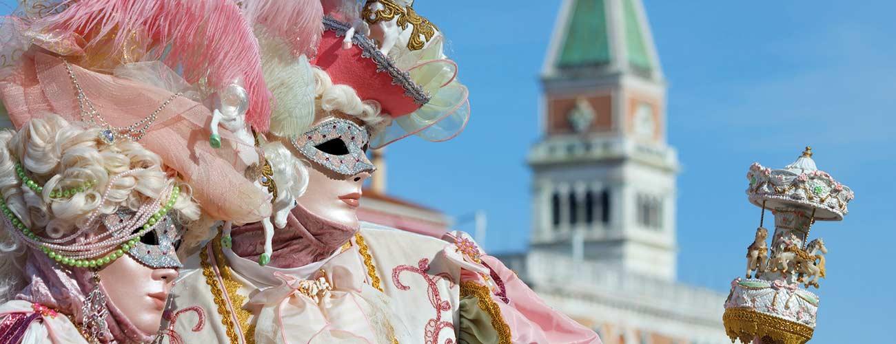 Carnaval de Venise, en Italie