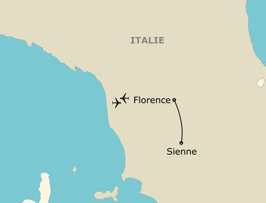 Itinéraire de votre programme en Italie
