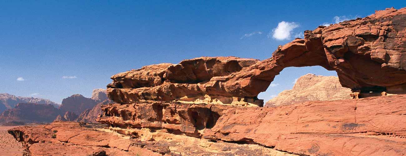 Désert de Wadi Rum, en Jordanie