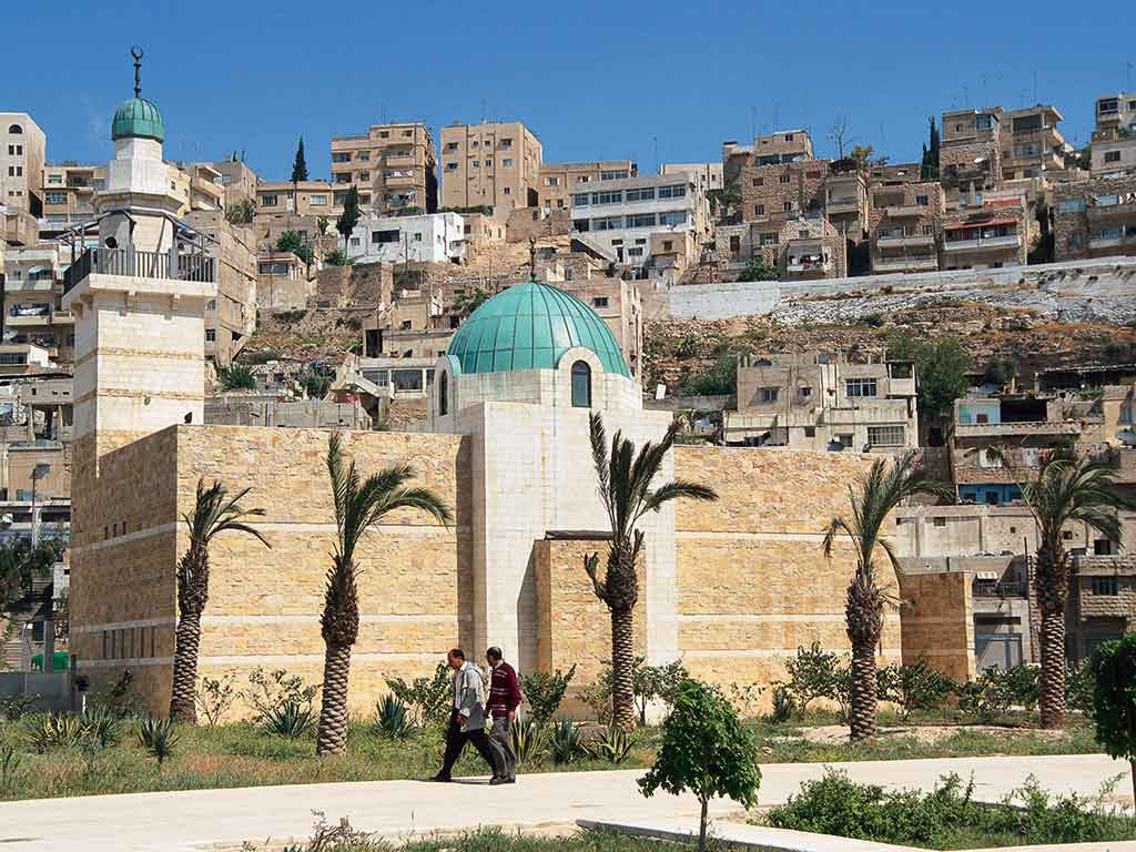 Amman, en Jordanie