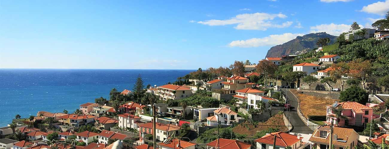 Vue de Funchal, à Madère