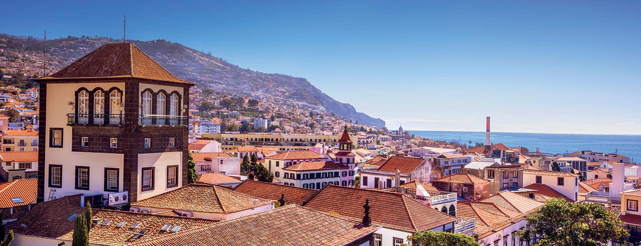 La capitale de Madère, Funchal