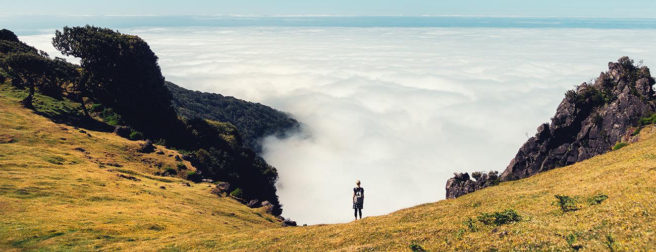 Au-dessus des nuages de Madère