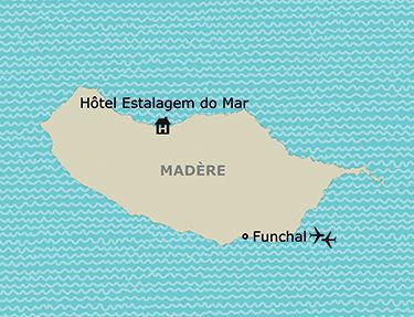 Situation de l'hôtel Estalagem do Mar