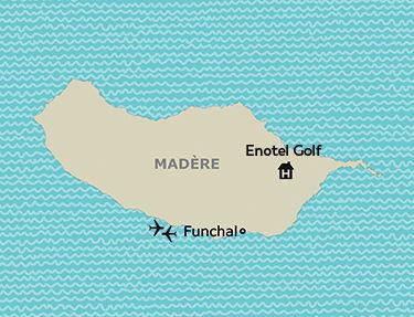 Situation de l'hôtel Enotel