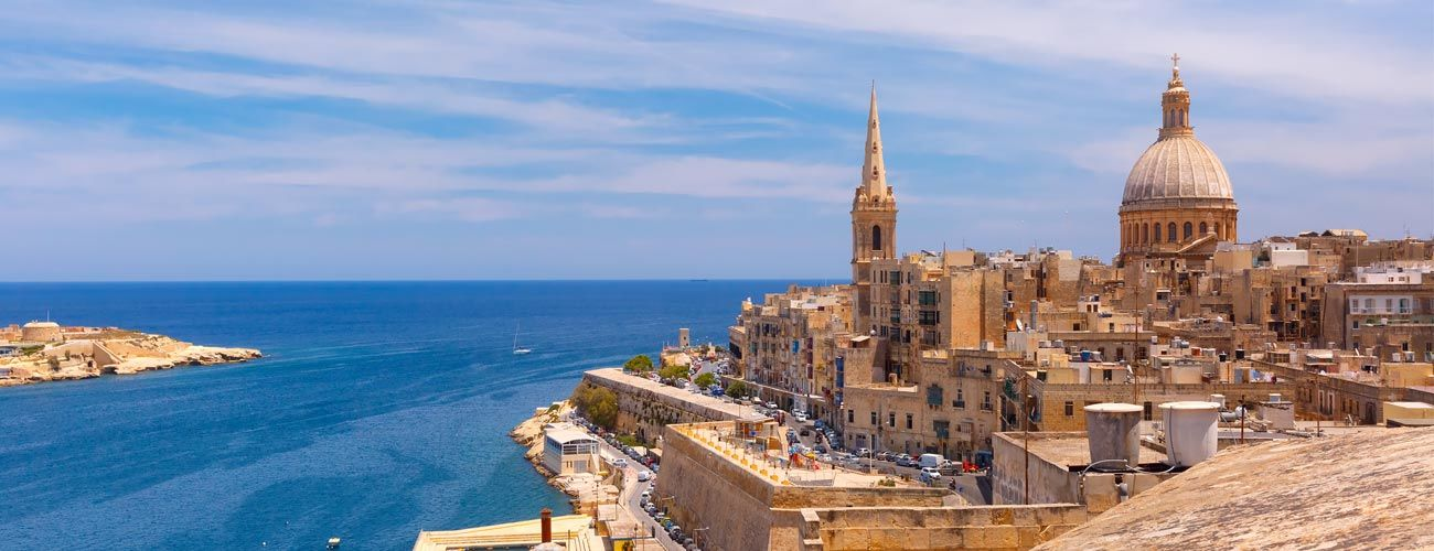 LLa Valette, capitale de Malte