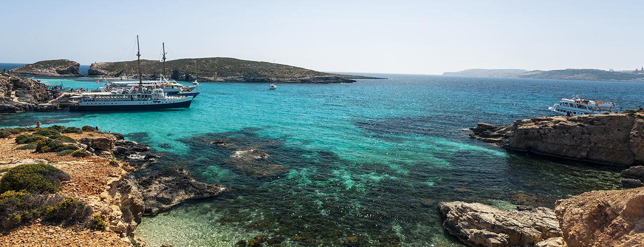 Eau turquoise de Malte