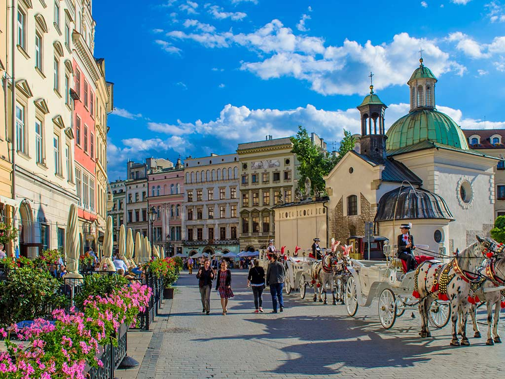 Grande place de Cracovie