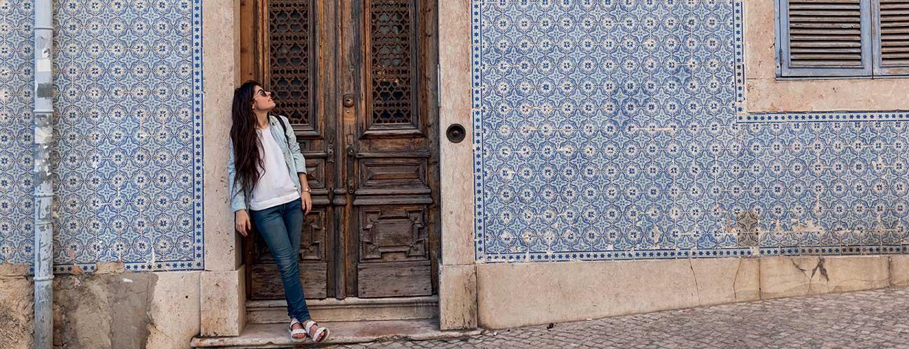 Les murs colorés du Portugal