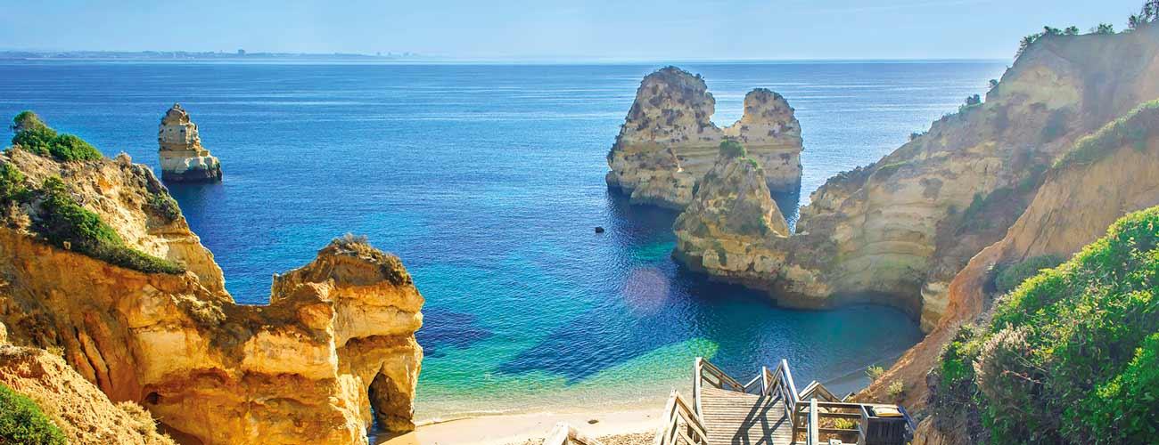 Magnifique paysage de l'Algarve